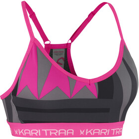 Kari Traa Var Sport BH Dam pink/svart